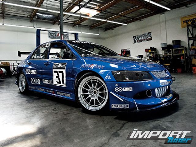 0711_impp_14_z+2003_mitsubishi_lancer_evolution_8+right_front_view