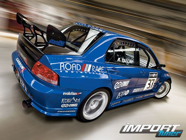 0711_impp_17_z+2003_mitsubishi_lancer_evolution_8+right_rear_view