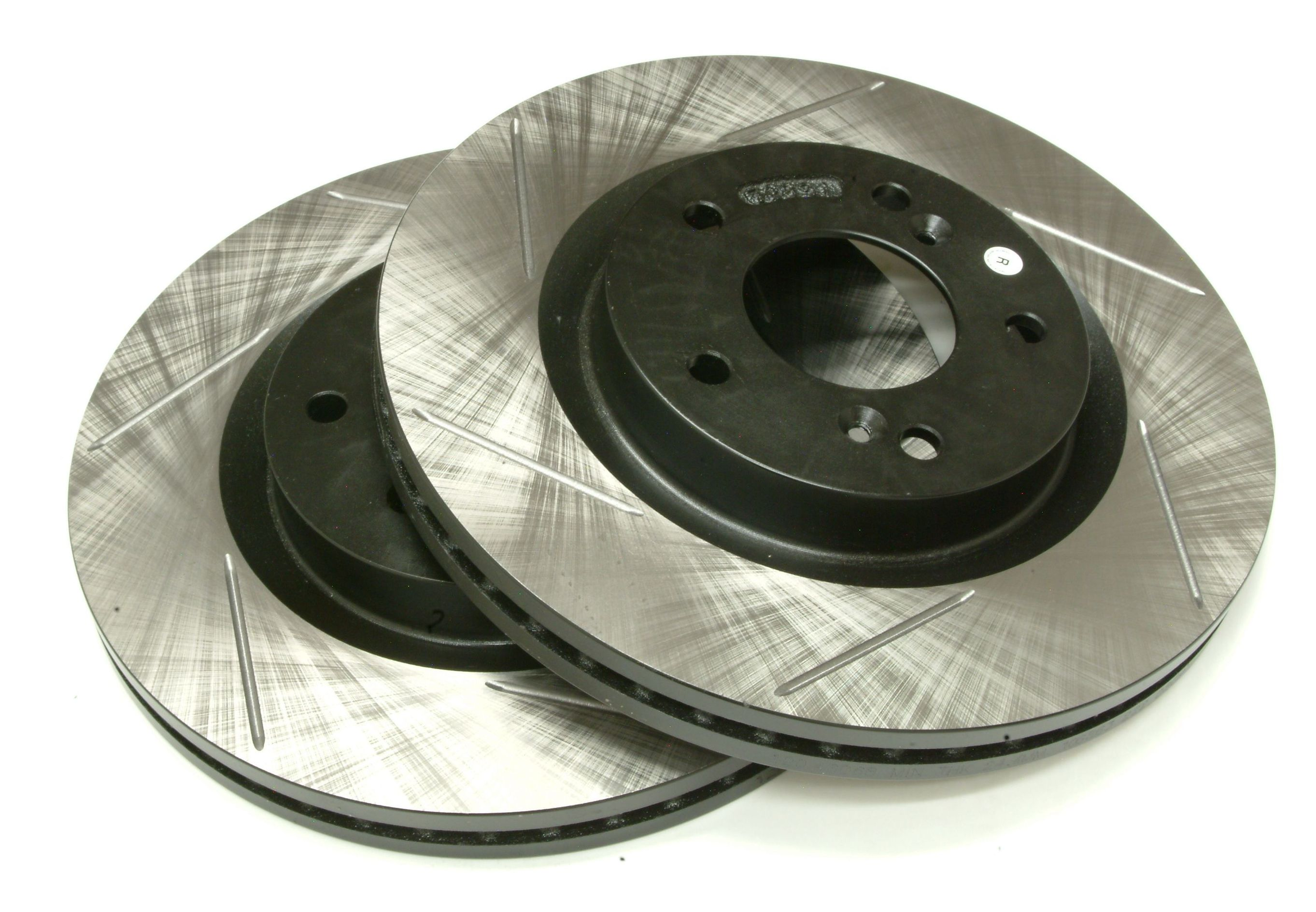 Powerslot 4G Eclipse frotn slotted brake rotors