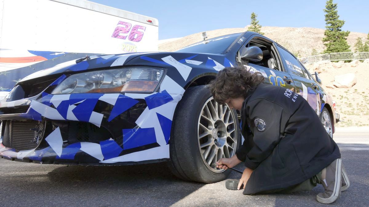 middle-tire pressures