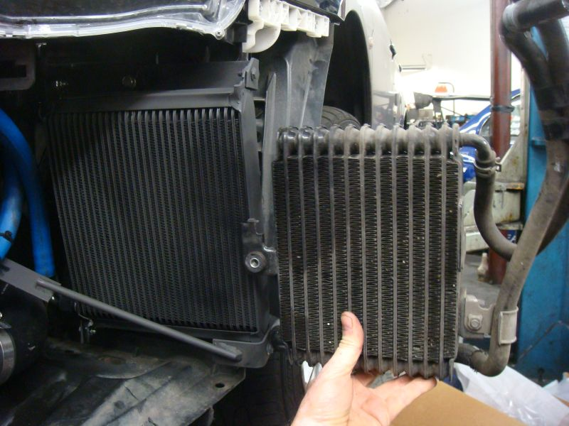 Ams Vs Ssp Sst Transmission Cooler