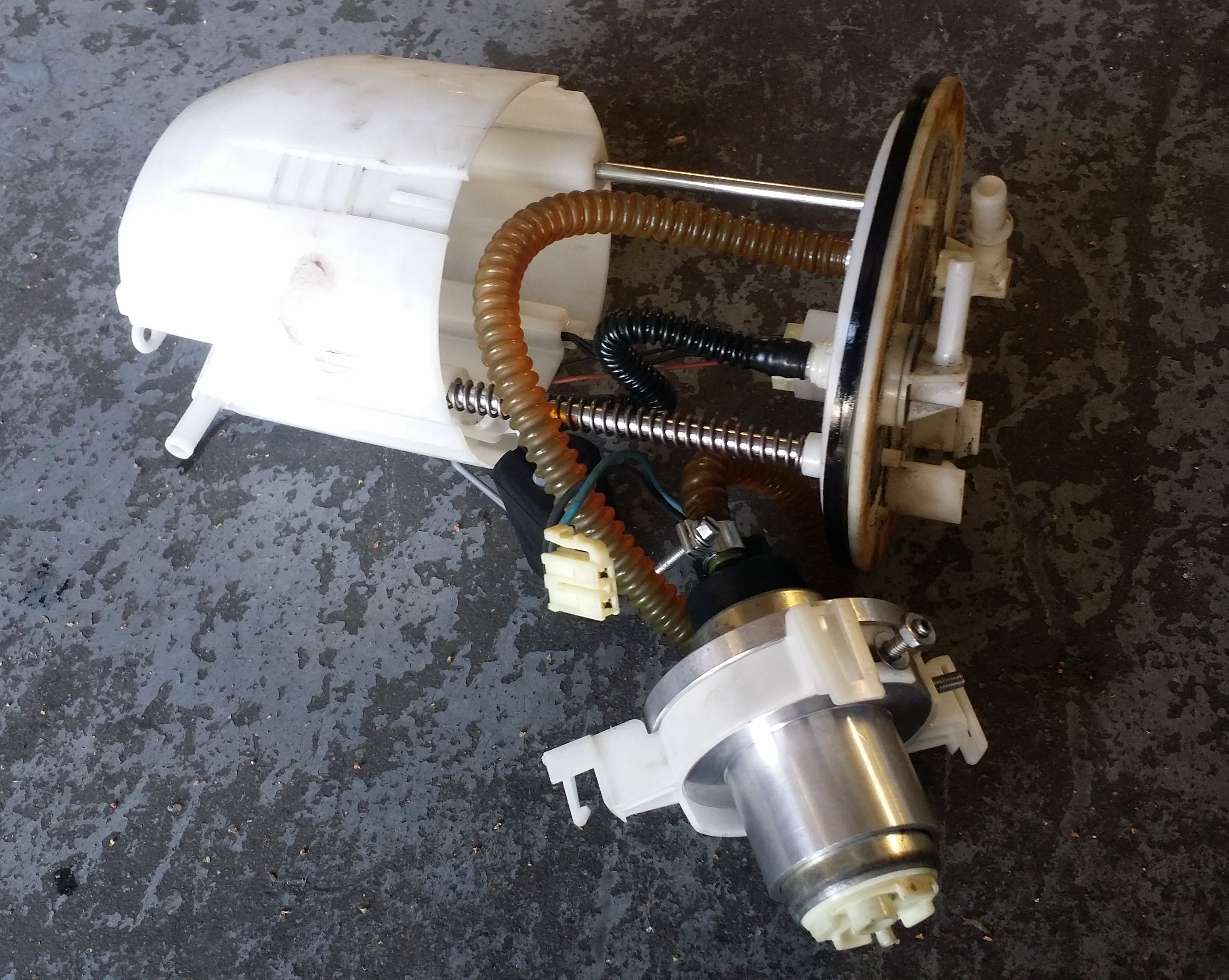 Aem E 85 Rated Fuel Pump For The Evo X 50 1220 Road Race Engineering Wrx Filter In Addition To Running No Pick Up Sock Car That This Came Out Of Had Under Hood Either He Was On His Second Motor After